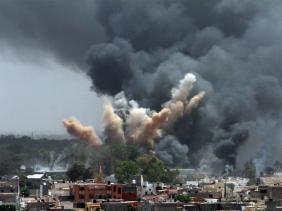 Libye bombardements 0