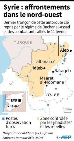 Syrie affrontements ouest 1